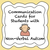 Autism Communication Cards for Non-Verbal Students