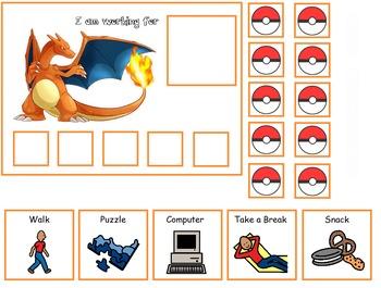Autism:  Pokemon Token Boards