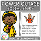 Social Story Power Outage Book + Cards Autism