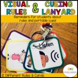 Autism PreK-Elementary Classroom Visual Rules & Cueing Lan