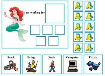 Autism Princess Token Board Pack