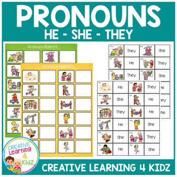 Pronoun Set