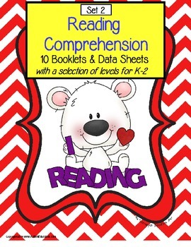 Autism Reading Comprehension Booklets and Data Sheets SET 2 | Distance Learning