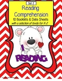 Autism Reading Comprehension Booklets and Data Sheets SET 2   Distance Learning