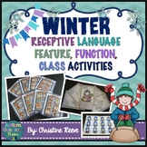 Autism Receptive Vocabulary Activities for Winter: Feature