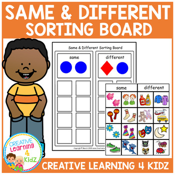 Same & Different Sorting Board