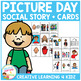 Social Story Picture Day Book + PECS Autism