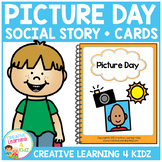 Social Story Picture Day Book + Cards Autism