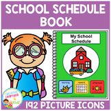 School Schedule Book 192 Picture Icons Autism