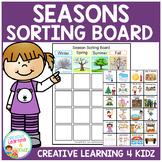 Seasons Sorting Board