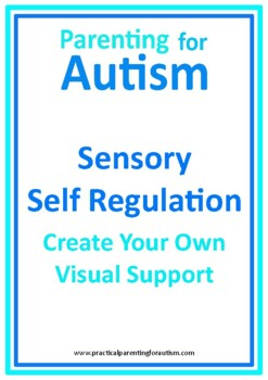 Autism Sensory Strategies Self Regulation Visual Support