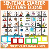 Sentence Starter Cards Autism