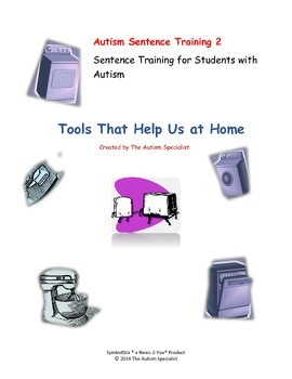 Create-A-Sentence Autism Sentence Training 2 Tools That Help Us at Home