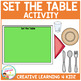 Set the Table Activity