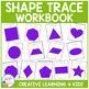 Shape & Trace Workbook + Flashcards