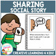 Social Story Sharing Book + PECS Autism