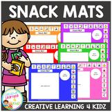 Snack Mats PECS Autism Special Education