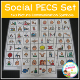 PECS Social Set Visual Schedule Cards Autism