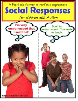 Autism: Autism Social Situations & Responses Flip Book {Special Education}