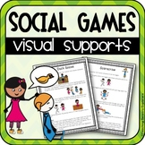 Autism Social Skills: Social & Cooperative Games Visual Supports