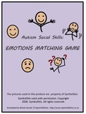 Autism Social Skills: Emotions Matching Game