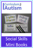 Autism Social Skills Good Manners Mini Books