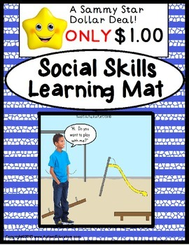 Autism Social Skills Learning Mat PLAYGROUND