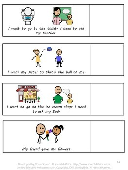 Autism Social Skills: Please and Thank You Social Story and Matching Game