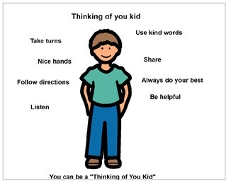 """Autism Social Skills 'You Can be a Thinking of You Kid"""""""