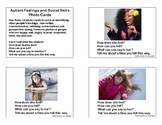 Autism Social Skills and Feelings Photo Cards