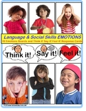 Autism Social Skills and Language Activities (Expected vs. Unexpected) BUNDLE