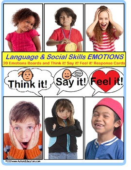 Autism Social Skills and Language Activities (Expected vs.