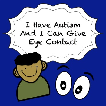 Autism Social Story - Eye Contact