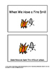 Autism - Social Story - Fire Drill