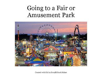 Autism Social Story: Going to Local Fair or Amusement Park