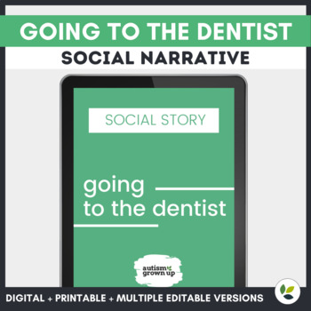 Autism Social Story | Going to the Dentist