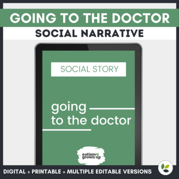 Autism Social Story   Going to the Doctor