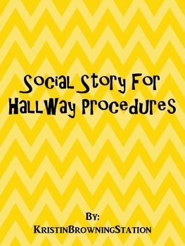Autism Social Story-Hallway Procedures