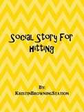 Autism Social Story-Hitting