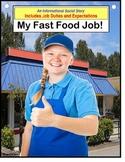 Autism Social Story Job Skills - MY FAST FOOD JOB {Special Education}