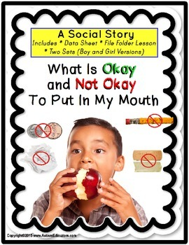 Nose Picking Social Story Teaching Resources Teachers Pay Teachers