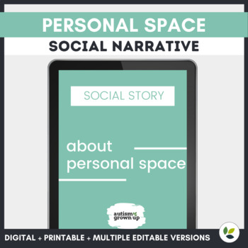 Autism Social Story | Personal Space