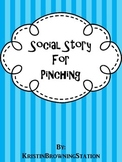Autism Social Story- Pinching