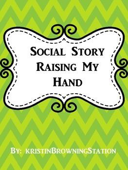 Autism Social Story-Raising My Hand
