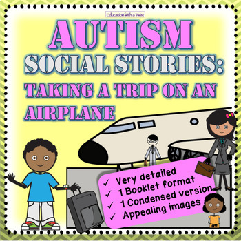 Autism Social Story: Taking a Trip on an Airplane