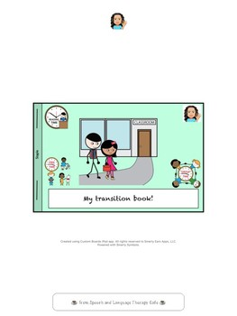 Autism: Social Story-Transition Time at School