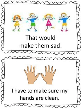 Autism Social Story- Washing Hands