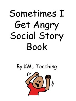 Autism -Sometimes I Get Angry Social Story Book