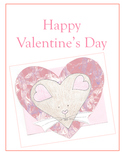 Autism Special Ed. Literacy - Happy Valentine's Day, Mouse