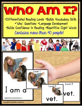 """Autism Special Education Reading Strategies Identifying """"W"""